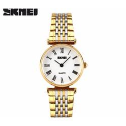Đồng hồ nữ SKMEI dây kim loại CHÍNH HÃNG