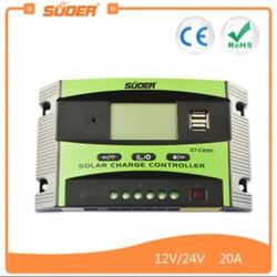 Bộ điều khiển sạc năng lượng mặt trời thông minh 12V , 24V - 20A