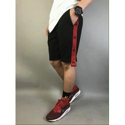 Quần Short thun nam kiểu dáng đắp dây 2 bên quần thể thao năng động