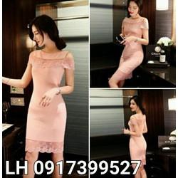 Đầm ôm váy ôm phong cách Hàn QUốc  L12D18