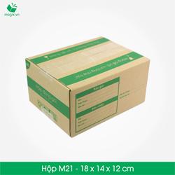 20 Thùng carton - Mã M21 - Kích thước 18*14*12 cm