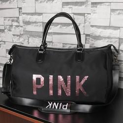 túi xách du lịch pink loại to đẹp