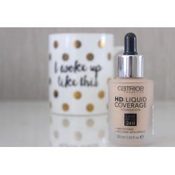 Kem nền Catrice HD Liquid Coverage Foundation