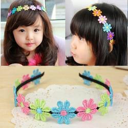 cài tóc hoa xinh cho bé