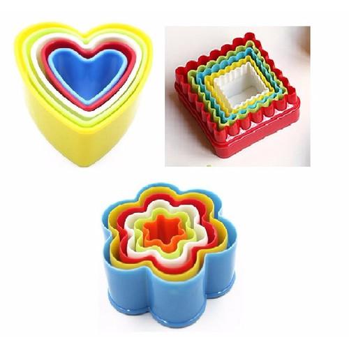 Combo 3 bộ khuôn nhựa làm bánh - 7804656 , 6180528 , 15_6180528 , 144000 , Combo-3-bo-khuon-nhua-lam-banh-15_6180528 , sendo.vn , Combo 3 bộ khuôn nhựa làm bánh