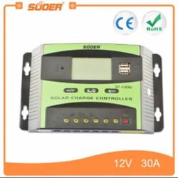 Bộ điều khiển sạc năng lượng mặt trời thông minh 12V , 24V - 30A