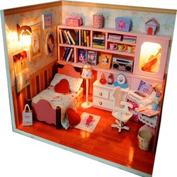 Mô hình nhà gỗ DIY - Sweet heart - K003-H -TINY HOUSE SHOP