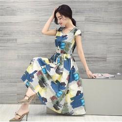 Đầm nữ thời trang, phong cách hiện đại, mẫu Châu Âu mới