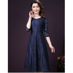Đầm Xòe Cao Cấp Ren Tay Lỡ hàng nhập cực xinh