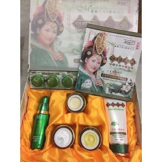 Bộ kem Trị Nám Tàn Nhang hoàng cung xanh Danxuenilan - HX1743 - HX1743 thumbnail