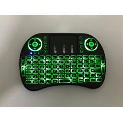 Bàn phím kiêm chuột bay LED RT-MWK08 cho Tivibox và Smart Tivi