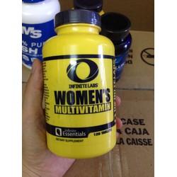thực phẩm bổ sung dạng viên vitamin tổng hợp dành cho nữ 120 viên