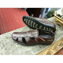Giày da bò thật thoáng mát mùa hè