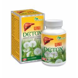 Uni Detox - Hỗ trợ trị viêm gan, bồi bổ gan,phục hồi chức năng gan