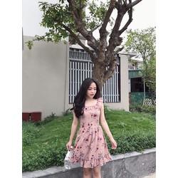 Đầm xoè hoa _MÕ CHU SHOP
