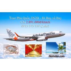 Trọn gói Phú Quốc 3N2Đ - Đi về bằng máy bay