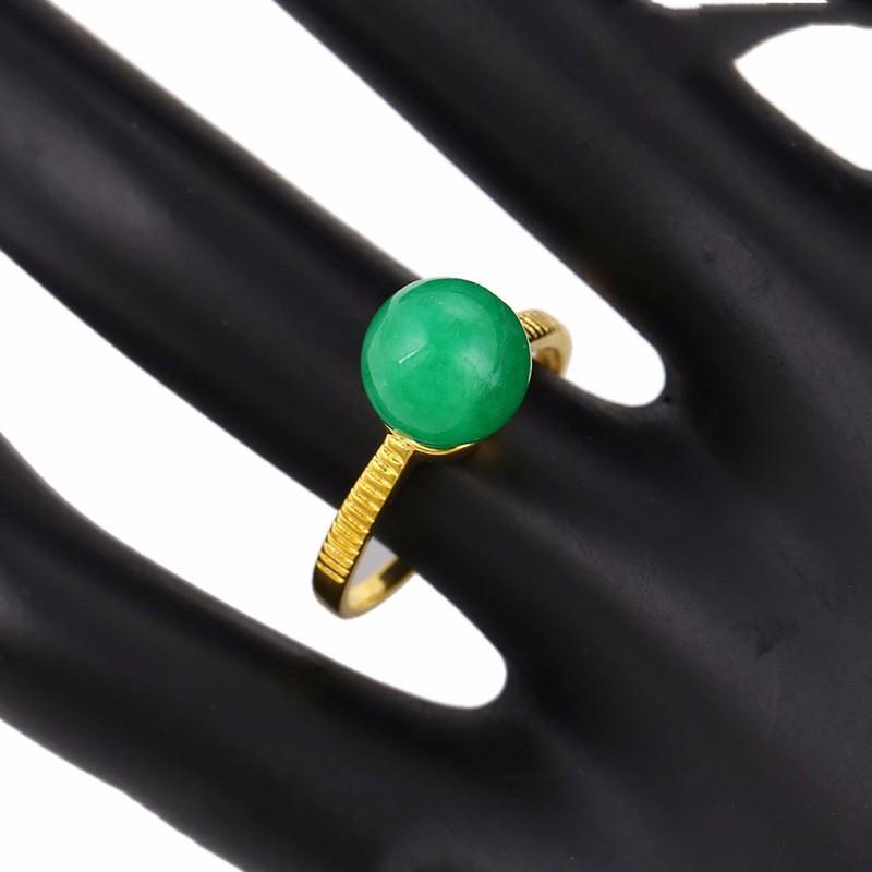 Nhẫn Trái Châu Đá Cẩm Thạch Cao Cấp XP 890 2