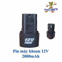 Pin máy khoan 12v