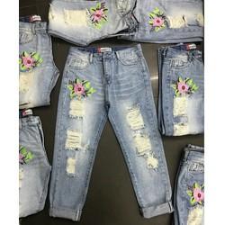 quần baggy Jean rách