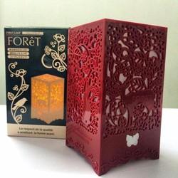 Đèn ngủ hoa văn Forêt Lamp có điều khiển từ xa - Đèn ngủ mini đẹp