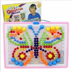 Bộ đồ chơi ghép hạt nhựa 296 hạt