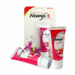 Bộ 3 kem trị mụn NEWGI 5 điều trị hiệu quả các loại mụn 6g