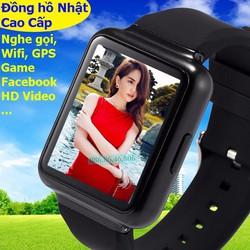 Đồng hồ thông minh Nhật cao cấp Wifi Game GPS Playstore