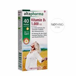 Viên uống Vitamin D3 Hãng Altapharma của Đức
