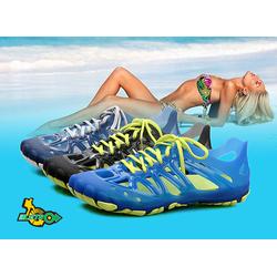 Giày sandal bít mũi nhựa đi biển du lịch