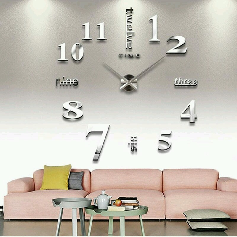 Đồng hồ treo tường 3D Đồng hồ treo tường 3D 2
