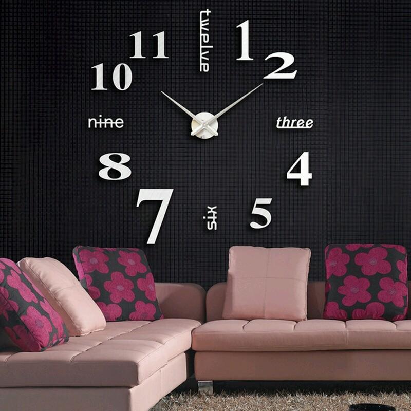 Đồng hồ treo tường 3D Đồng hồ treo tường 3D 5