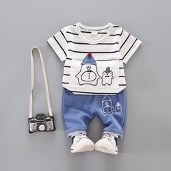 Áo quần mùa hè cho bé trai