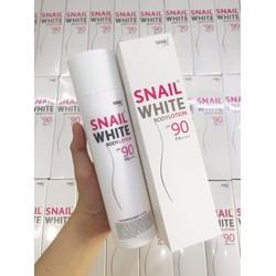 Kem dưỡng thể Snail white body lotion spf90 PA +++