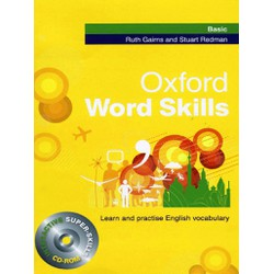 Oxford Word Skills Basic Students Pack Book and CD-ROM
