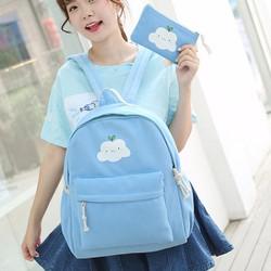 Ba lô học sinh thời trang style Hàn Quốc 2017