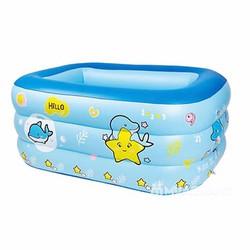 Bể bơi phao 3 tầng cho bé kích thước 160x125x55cm