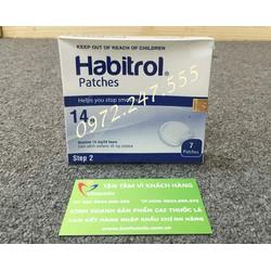 Cao dán cai thuốc Habitrol 14mg hiệu quả nhanh chóng