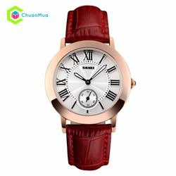 Đồng hồ Nữ Skmei 1083 tia giây dưới DHA453-D1487 - Đỏ