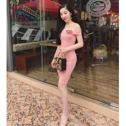 Đầm bệt vai siêu xinh