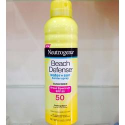 xịt chống nắng Neutrogena spf 50