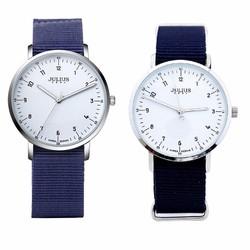 Đồng hồ cặp Julius Hàn Quốc dây vải