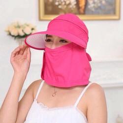 Mũ kèm khăn chống nắng hiệu quả