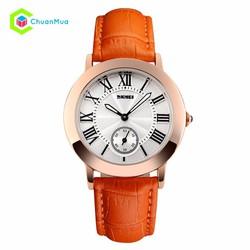 Đồng hồ Nữ Skmei 1083 tia giây dưới DHA453-D1490 - Cam