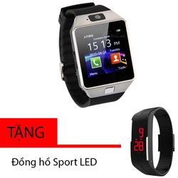 Đồng hồ SmartWatch DZ09 Bạc
