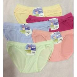 Combo 10 quần lót nữ cotton lưng bản - 10Q8550