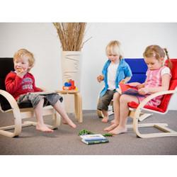 Ghế Kid arm chair Spizy - Hàng xuất Hàn Quốc