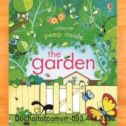 Peep Inside the Garden - khám phá khu vườn - Usborne book