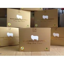 Viên uống nhau thai cừu Maxi Sheep Placenta 50000mg hộp 100 viên