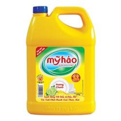 Nước rửa chén Mỹ Hảo hương chanh 3,8kg