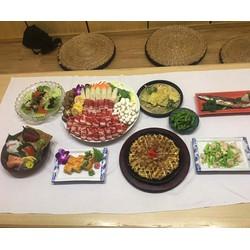 Set ăn đặc biệt chuẩn vị Nhật Bản cho 06 người tại nhà hàng Kadan